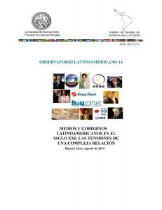 OBSERVATORIO LATINOAMERICANO 14 tapa