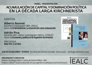 Flyer Bonnet y Piva 16-6